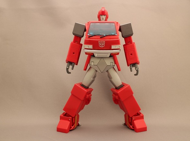 MP Ironhide Ratchet waist armor movable joint