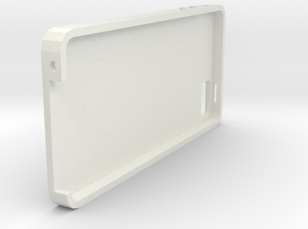 iPhone 5S Simple Case in White Natural Versatile Plastic