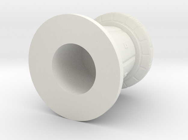 Df9 Defense Tower 1:44 in White Natural Versatile Plastic