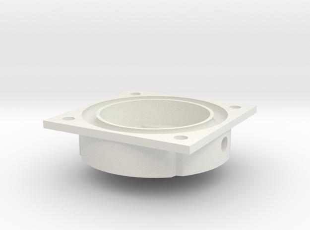 C2 Piezo Pump2d in White Natural Versatile Plastic