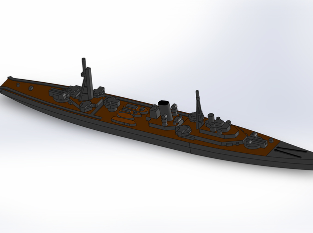 IJN Minelayer Tsugaru 1944 1/1800 3d printed