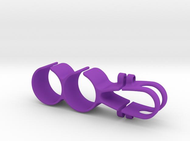 Pit Stop Holder Seatpost Inline  in Purple Processed Versatile Plastic