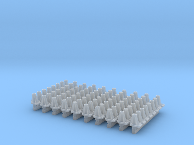 NER Post 1918 Long Buffer (80) in Smooth Fine Detail Plastic