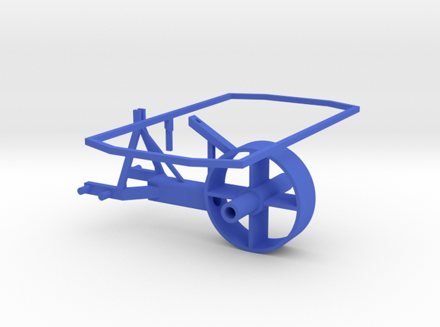 Grass Silage Spreader - Frame 1/32 in Blue Processed Versatile Plastic