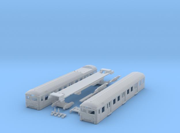 Short DSB S-tog MM + FS (Reno 2) N scale