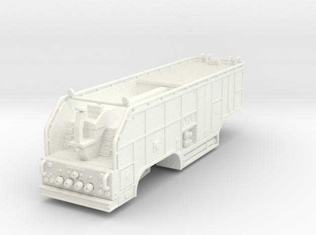 1/87 tender trailer for Super Pumper System (updat in White Strong & Flexible Polished