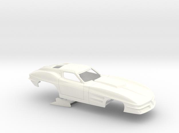 1/25 1963 Pro Mod Corvette No Scoop