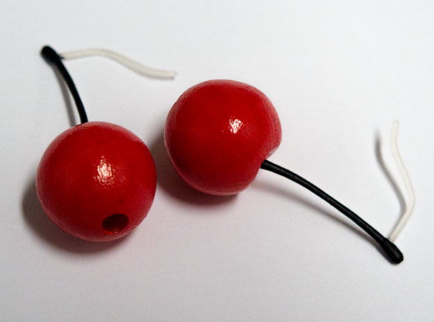 Cherry On Top in Smooth Fine Detail Plastic