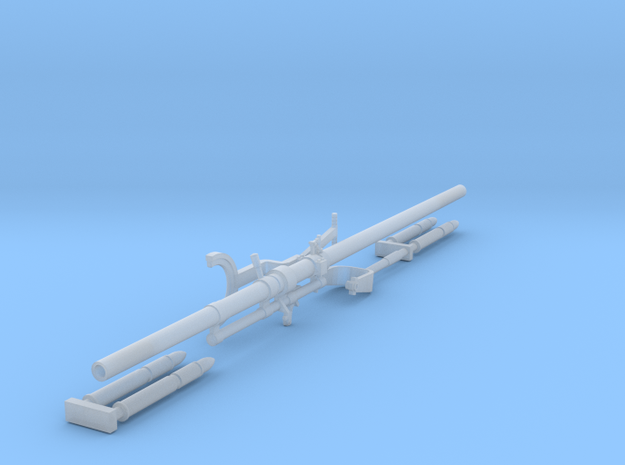 Davis Recoilless Aircraft Rifle (1:32) in Frosted Extreme Detail