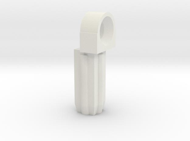 SWIVEL JOINT FEMALE in White Natural Versatile Plastic