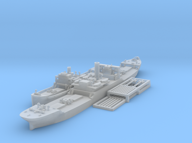 1/1800 EFC Freighters 1020 'Laker'and 1013 in Frosted Ultra Detail