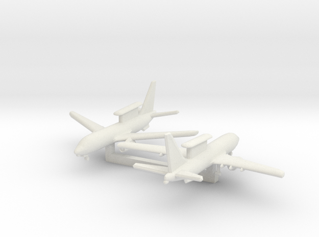 1/700 Boeing 737 AEW&C (E-7A) with Landing Gear in White Natural Versatile Plastic