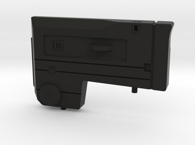 Interior panel right door D90 Gelande 1:10 in Black Strong & Flexible