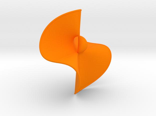 Cubic Surface KM 44 in Orange Processed Versatile Plastic