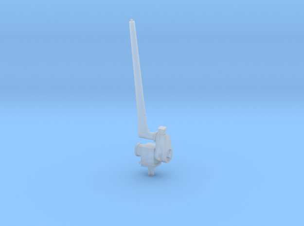 1/96 Aft Antenna - Single left in Smooth Fine Detail Plastic