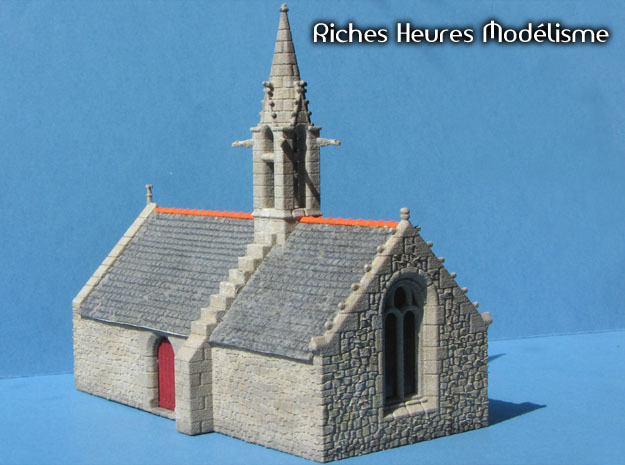 HOvMb10 - Brittany village in White Natural Versatile Plastic