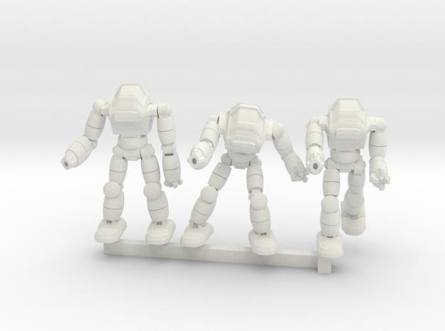 Neo Battlesuit Squad in White Natural Versatile Plastic
