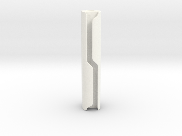 Pinball Spotlight Concealed Wire Post - 2 Inch in White Processed Versatile Plastic