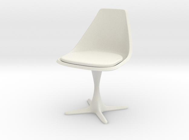 Burke Style 115 1:9 Scale 8-Inch in White Natural Versatile Plastic
