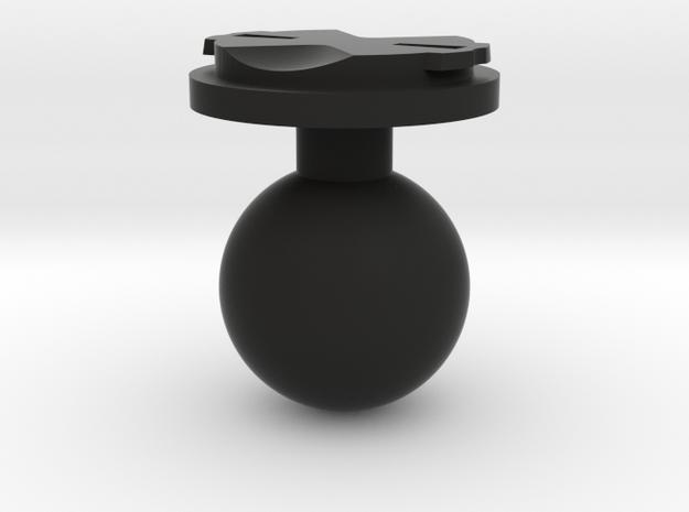 Garmin Edge Male Mount To 1 Inch Ball in Black Natural Versatile Plastic