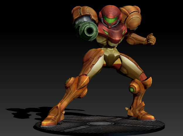 Samus Aran - Power Suit 140mm 3d printed