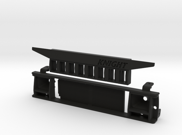 XJ10001 XJ ANGRY Grill (for Pro-Line XJ) in Black Strong & Flexible