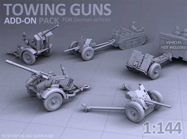 Towing Guns - (PAK36 / IG18 / Flak30)