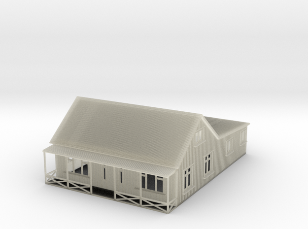 Nscale cottage with veranda