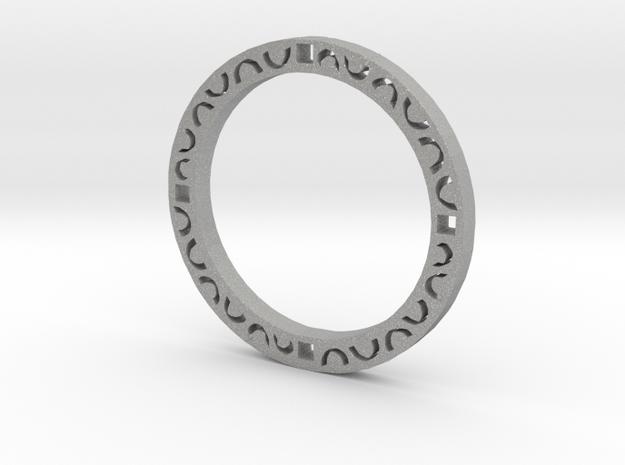 Simple bracelet in Aluminum