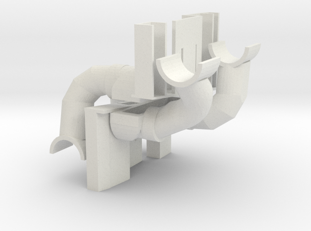 Blade Chroma Small Landing Gear in White Strong & Flexible