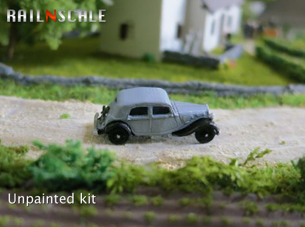 Citroën Traction Avant (N 1:160) 3d printed