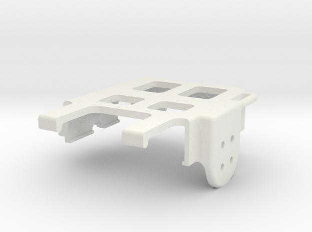 RunCam2 Gimbal Camera Housing V2 in White Strong & Flexible