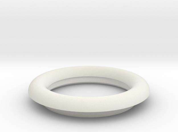 21mm EDF Intake Lip V1 in White Natural Versatile Plastic