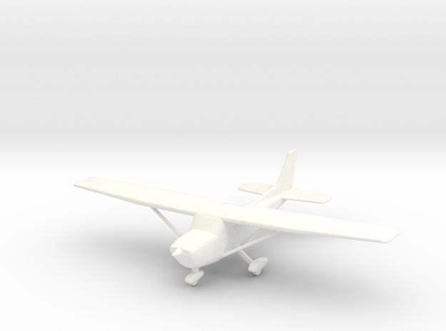 Cessna 172 Skyhawk 1/96 in White Processed Versatile Plastic