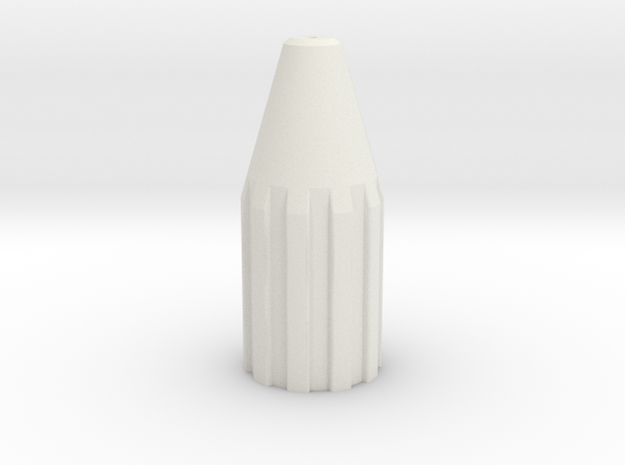 Drill Shifter in White Natural Versatile Plastic