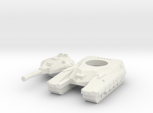 """Bishop"" Battle Tank 6mm V.2 3d printed"