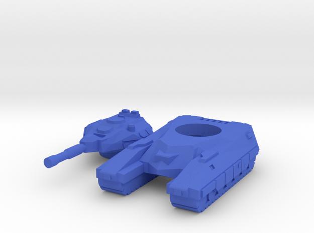 """""""Bishop"""" Battle Tank 6mm V.2 3d printed"""