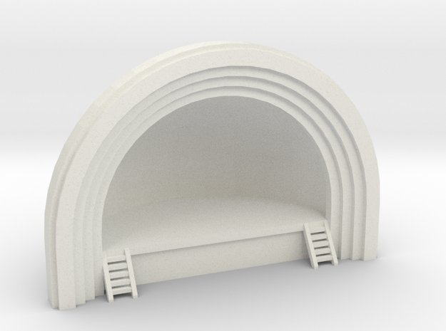 Concert Band Shell - N 160:1 Scale