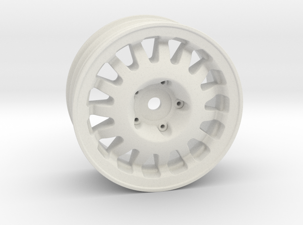 "1.9"" RC Wheel (+3mm offset) in White Natural Versatile Plastic"