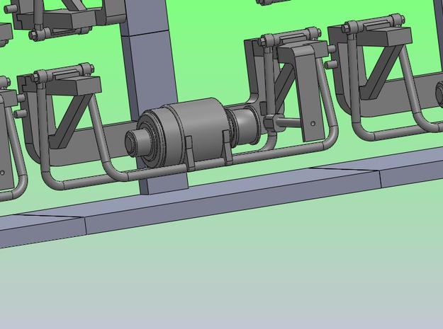 BoxGen6 3d printed Closeup  of design image