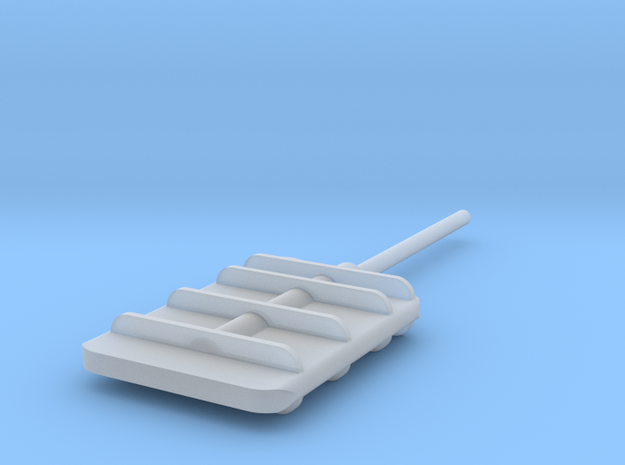Flanking Rudder in Frosted Ultra Detail