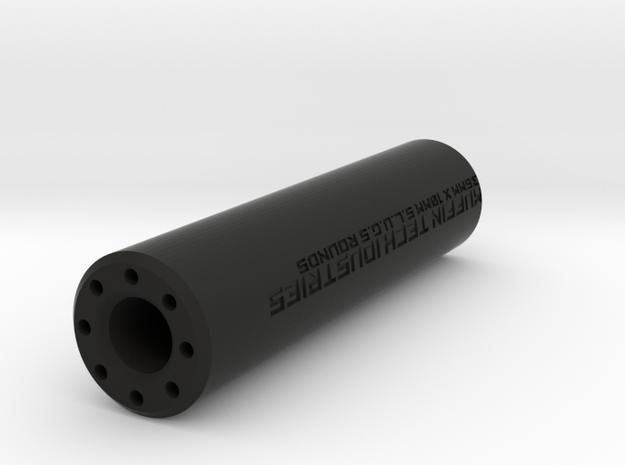 Silenced Muzzle Acr in Black Natural Versatile Plastic