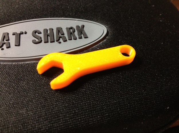 SMA Spanner in White Strong & Flexible