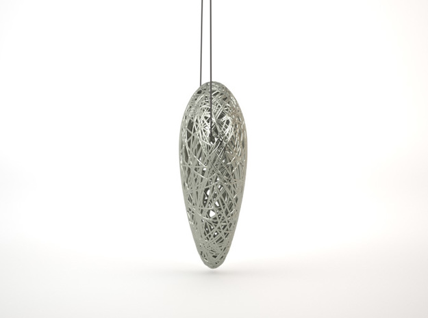 Single Thread Pendant 3d printed Side View