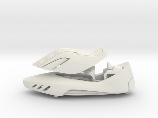 Shoe Car - from Concept Design Quest in White Natural Versatile Plastic