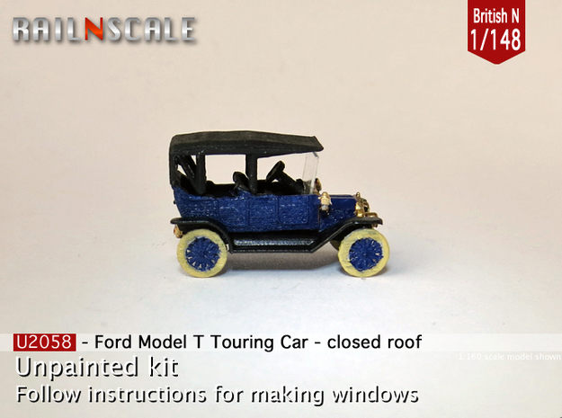 Ford Model T - closed roof (British N 1:148)