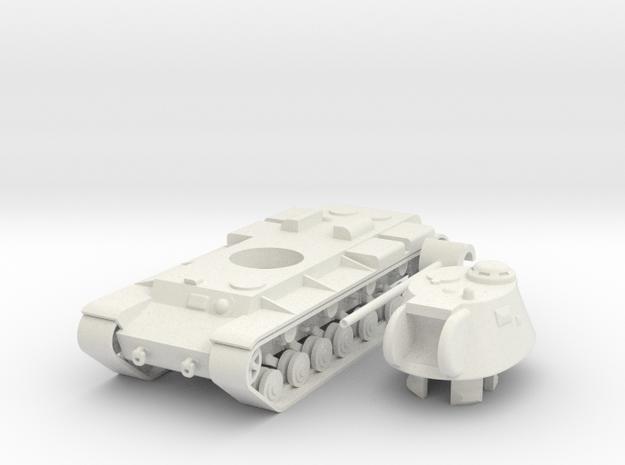 1/100 KV-3 in White Natural Versatile Plastic