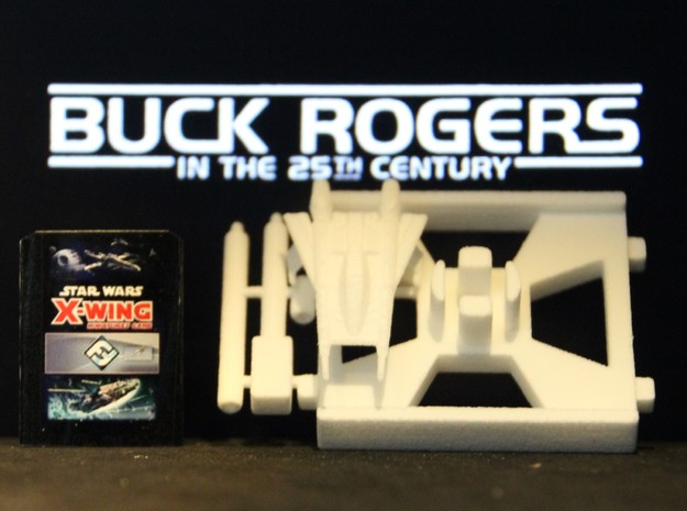 Thunder Fighter, X-Wing Base (Buck Rogers), 1/270
