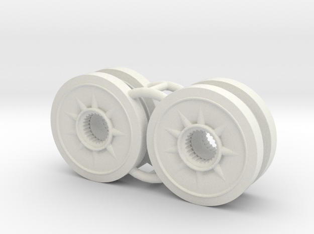 Two 1/16 Pz IV Spare Wheels