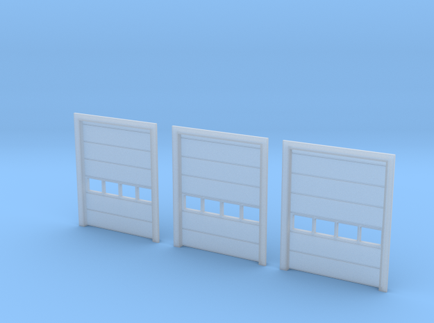 N Scale 3x Overhead Door #3 in Smooth Fine Detail Plastic